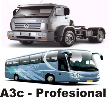 BREVETE A3C PROFESIONAL AREQUIPA